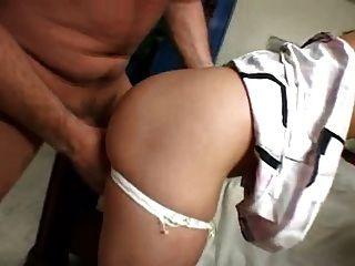 cuck slut follada por 2 moteros novio en el teléfono