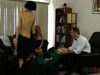 strip blackjack con mika, sammy y julie
