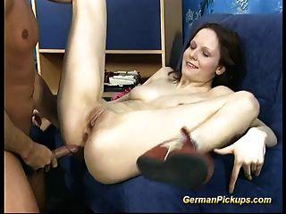 follada anal con el bebé alemán recogido
