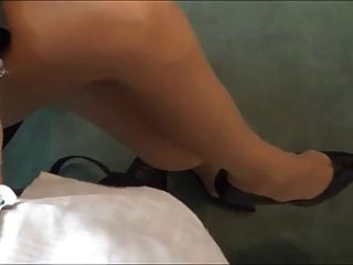 secretaria joder zapato en tacones estilete cum sobre tacones