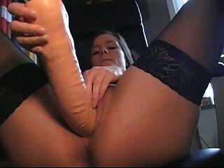 swedish girl big dildo