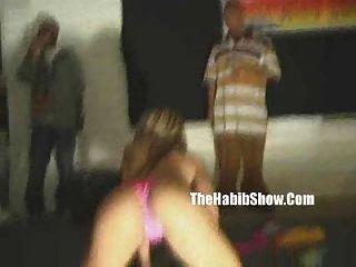 aficionados strippers gettin ghetto en la fiesta de la casa