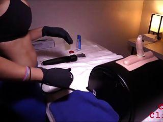 Cumming en movimiento rápido