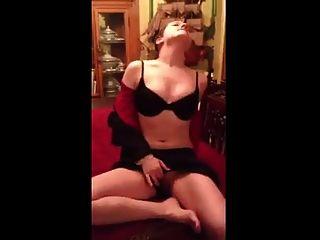chica agradable masturbarse y orgasmo
