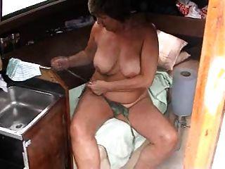 diversión en el barco