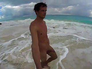 str8 hombres jerk off en playa de cuba playa