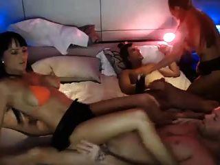hot 4some fuck en la cámara