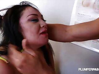 grande titty bbw julia sands obtiene su apretado coño elaborado