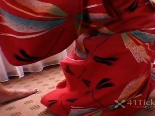 voléame aina japanese geisha blowjob (jaj sin censura)