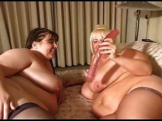lesbianas bbw patadas y puta mutuamente
