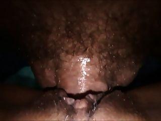 mujer horney sexy obtener creampie grande de marido