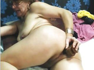 juguete de uso de abuelita sexy anal