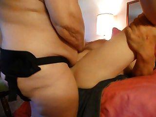 stranp en golpear a mi marido y miking su próstata