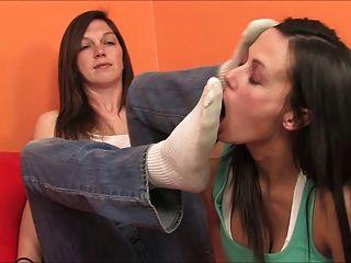 olor de calcetín y adoración de los pies