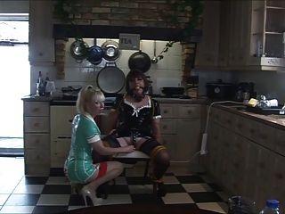 la enfermera madame c burla angelica en la cocina de nuevo