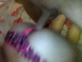 nena follada dura con su panty en