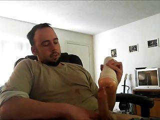 str8 hombres viendo porno y jerk con fleshlight ll