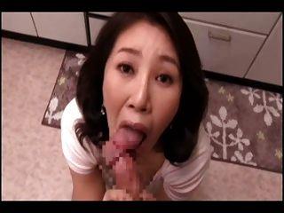 mamá japonesa pov chupar (cens)