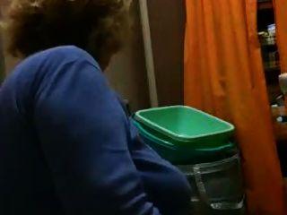 mia suocera en bagno