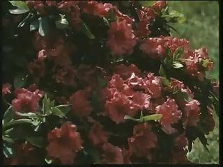 clásica british slut louise se folla en el jardín