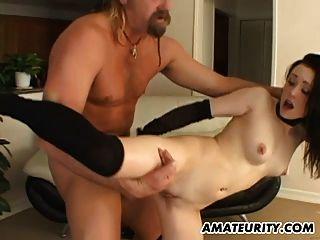 amateur adolescente novia interracial gangbang con anal