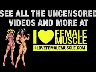 bodybuilder femenino enorme brigita brezovac caliente músculo femenino
