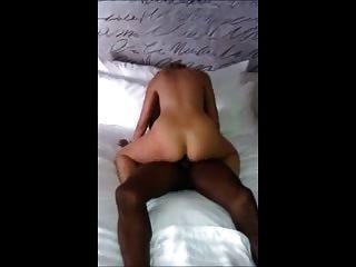 sexy rubia mujer paseos grandes negro polla cuckold esposo películas