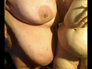 cachonda gorda gorda bbw lesbianas jugando con la otra p4