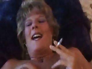 caliente, sucio, hablando, más viejo, puma, fumar, follar