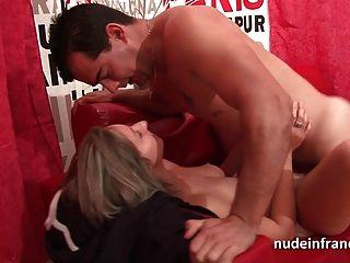 pareja de francés aficionado tener relaciones sexuales en frente de nuestra cámara