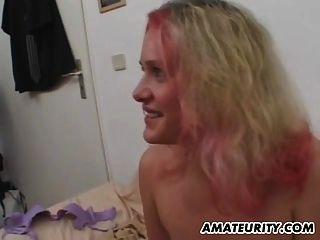 novia adolescente aficionado tetona chupa y folla con cim
