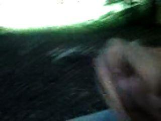 wald wichsen wank en el bosque y cum