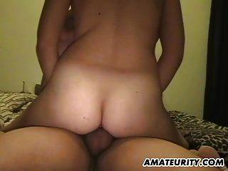 amateur chubby adolescente novia chupa y folla