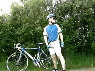 yo con bicicleta