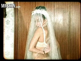 novias de celebridades, rasgar sus vestidos y joder a sus maridos!