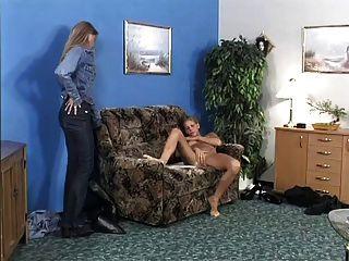 trío anal con mamá