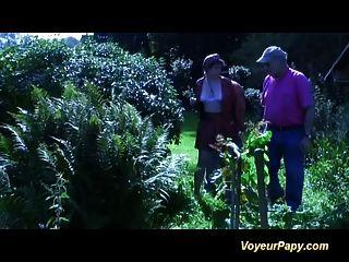 trío de bosque francés con muñeca papy