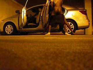 conseguir un culo en el estacionamiento