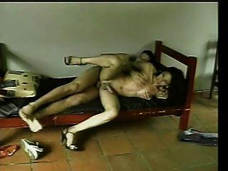morena de sexo transexual y follada