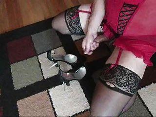 sacudidas en lencería sexy