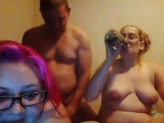 feas chubby hijas doble mamada no su papá gordo