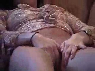 masturbándose chica en pantie
