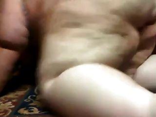 pelirroja ssbbw sacude el culo en la leva