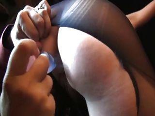 paula, francesa madura follada en pantyhose rasgado