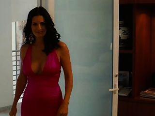 courtney cox tetas grandes en un bonito vestido