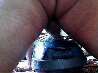 niño gordo folla su aspiradora