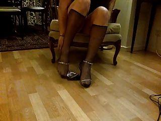mis piernas y pies ii medias y tacones
