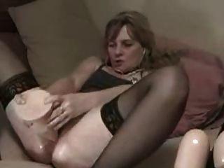aficionado maduro dildo anal enorme