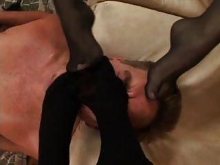 chica dominante el juego de succión