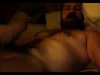 peludo, caliente, papá, oso, jo, webcam